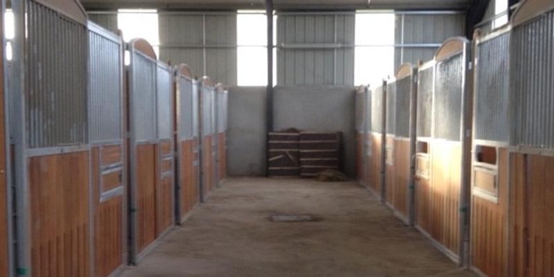 le couloirs des boxes