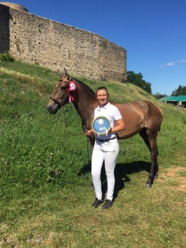 élevage chevaux lusitaniens récompense Mavy de la Plaine